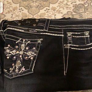 Black Miss Me Jeans 32/31